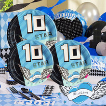 2018 New Kids Birthday Party Decorations Kid Evnent Supplies Decoration For 10 Years Old