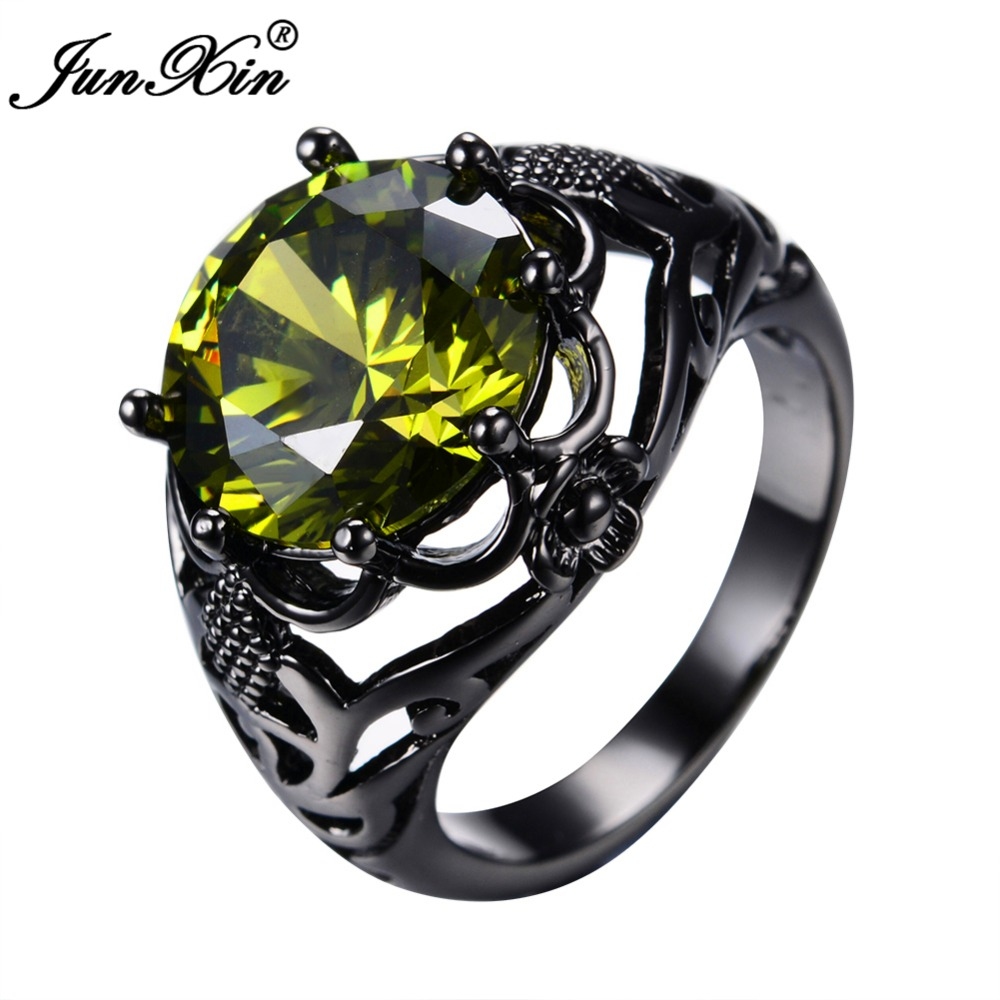 cut black gold diamond for women pin rings band engagement wedding bands princess