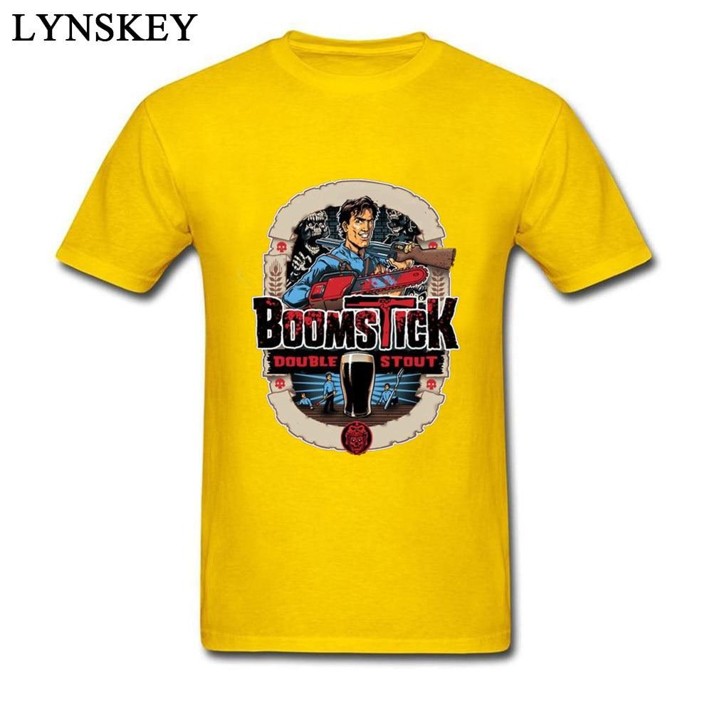 Evil dead boomstick_yellow
