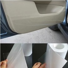 Car styling Rhino Skin Car Bumper Hood Paint Protection Film Vinyl Clear Transparence film 20cmx5m thickness