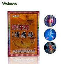8Pcs Capsicum Plaster Hot Back Pain Neck Pain Back Pain Muscle Pain Relief Patch Health Care Body Massage C1449
