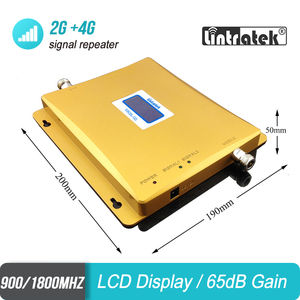 Image 3 - Signal Booster 2G 3G Cellular 2100 900 GSM WCDMA Repeater for mobile phone signal amplifier Lintratek with LCD display set #45