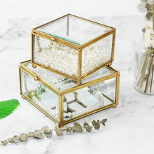 HLPKC Nordic Gold Storage Box Eternal Glass Jewelry & Buy gold storage box and get free shipping on AliExpress.com