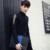 Chemise Homme 2016 Nova Primavera Sólida Manga Longa Camisa Bordada homens Coreano Moda Casual Slim Fit Camisa Dos Homens Preto Branco 3XL-M