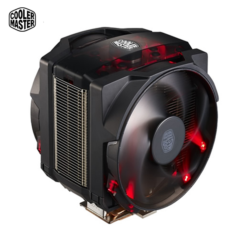 Cooler Master MASTERAIR MAKER 8 CPU Cooler fan 8 Heatpipes 140mm fans 3D Vapor Chamber Technology and Customizable Cover Designs цена и фото