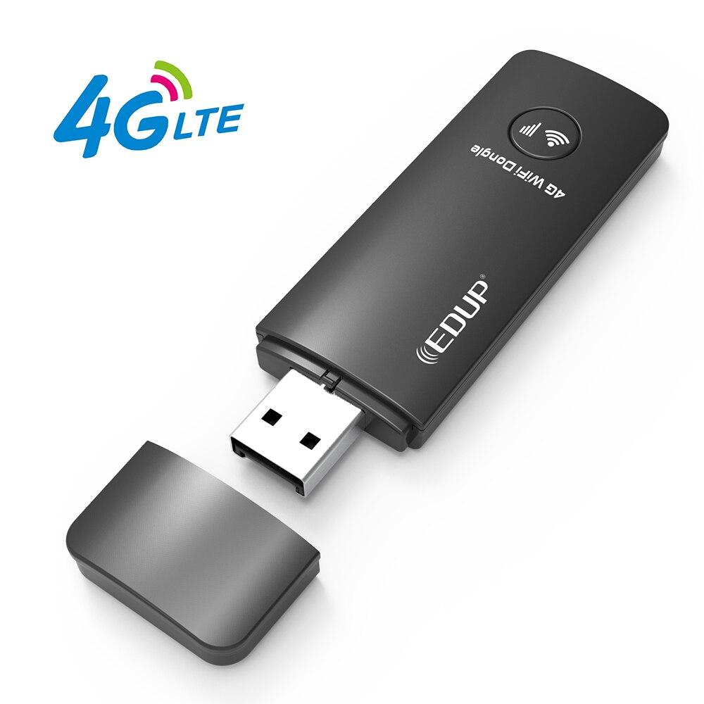 Nouveau 4G LTE universel USB2.0 WiFi Dongle 150 Mbps Modem USB avec 3G/4G Nano carte Sim pour votre ordinateur portable tablette téléphone