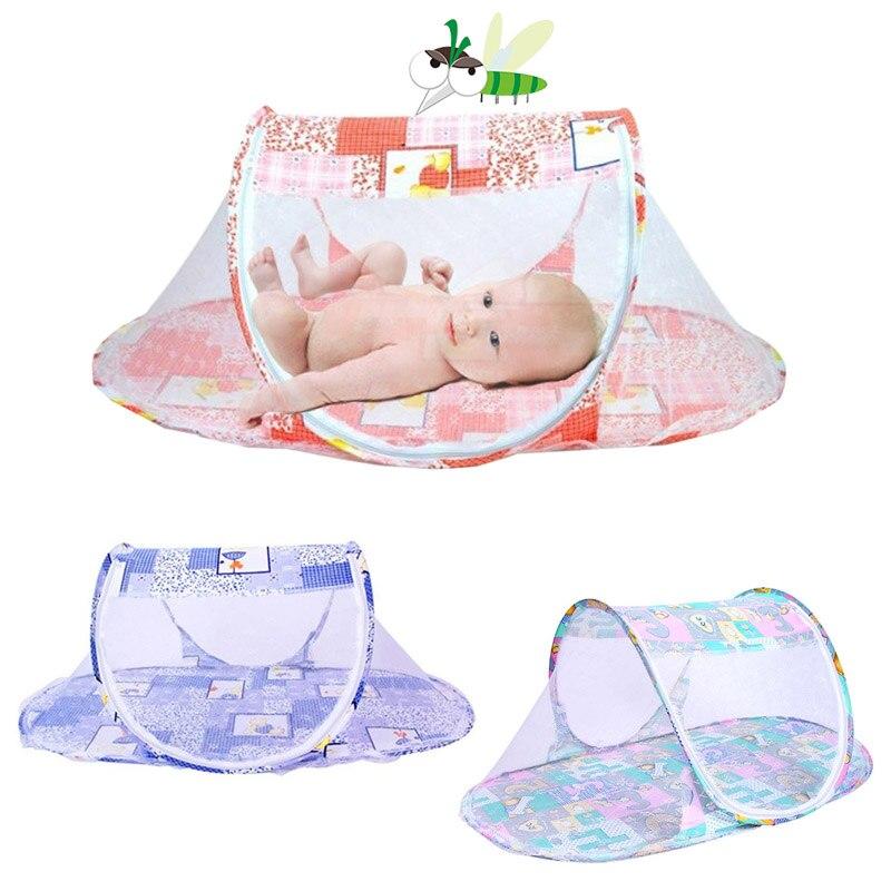 Горячая Новинка Портативная детская сетчатая подушка для младенцев, матрас для кроватки, складная противомоскитная сетка, хогард
