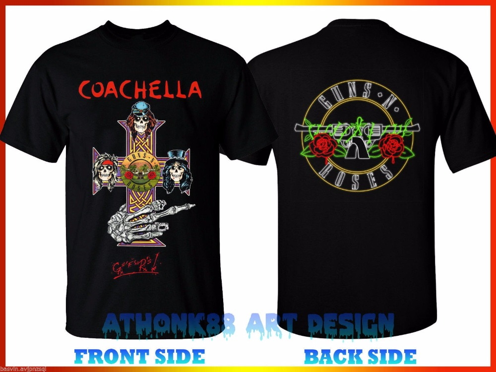 Guns Roses Crush Coachella Nto Reclaim Rock Vintage Classic New T-Shirt S 3XL Guns N Ros ...