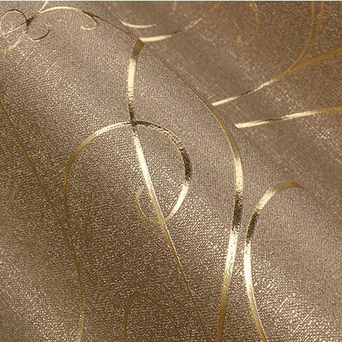US $34.67 19% OFF Moderne Luxus 3D gestreifte tapete Klassische gold damast  tapete rolle Wandbild wand papier Flur wohnzimmer TV wand tapete-in ...
