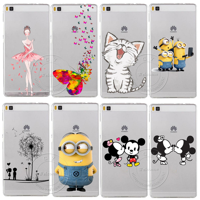 coque minnie huawei p9