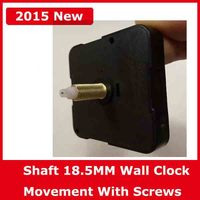 Shaft 18 5MM Quartz Wall Clock Movement Repair Long Shafts Wall Clock Machine Screw Black Cover