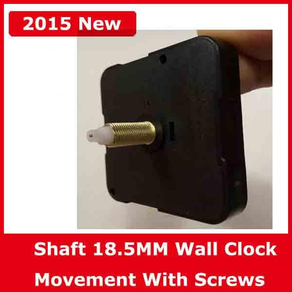 Eje 18.5 MM Movimiento de reloj de pared de cuarzo Reparación de - Decoración del hogar