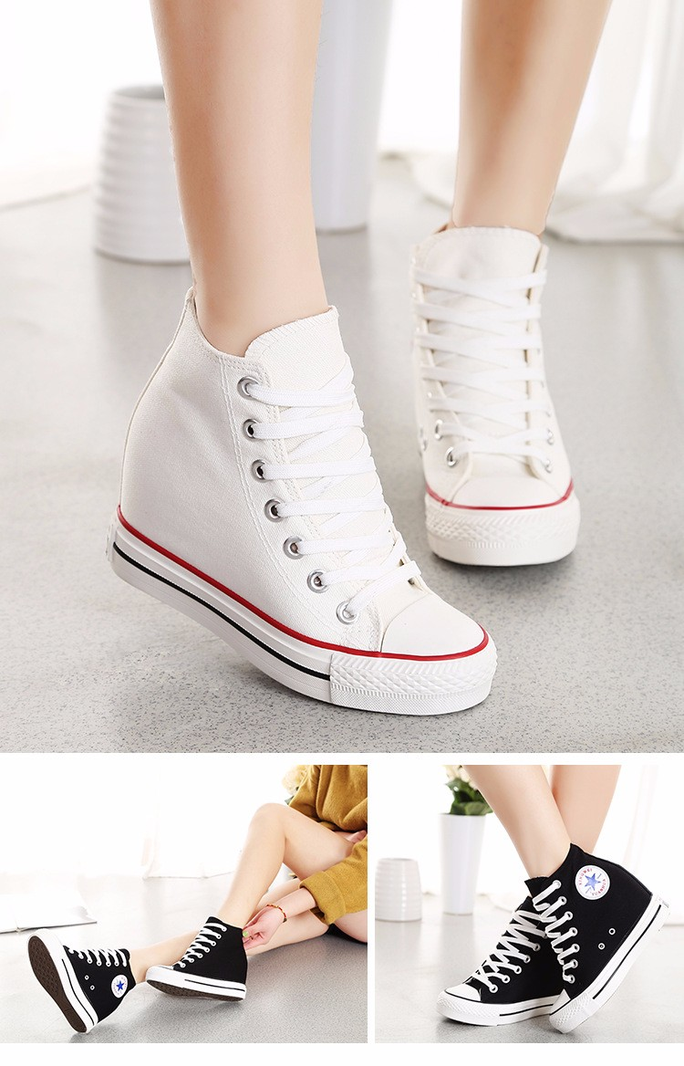 KUYUPP High Top Canvas Women Shoes Espadrilles Spring Autumn Womens Wedges Shoes Lace Up Casual Shoes For Female Sapatilha YD120 (16)