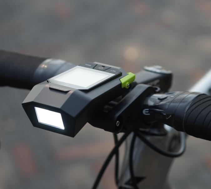Shanren Raptor II  German Standard Light 17 Functions Wireless Bicycle Computer and 400 Lumen Bike Light In One 45 patterns computer programming bike bicycle light