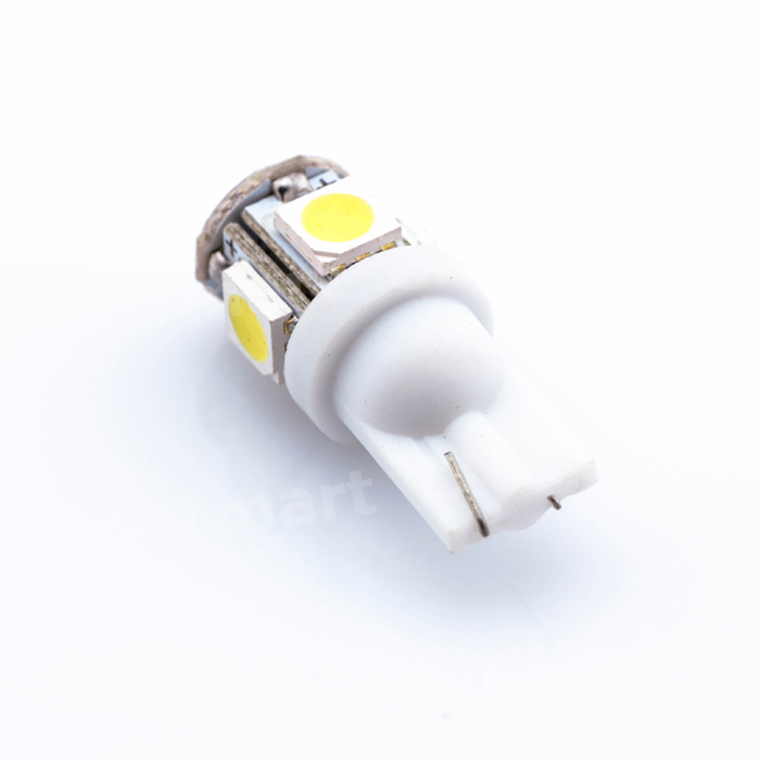 Promotion Car LEDs light Clearance lights T10 5 LED LIGHT 5LED Car Auto LEDS T10 194 W5W 5050 Wedge Light Bulb Lamp 5SMD White t10 2 5w 250lm 560 590nm smd 5050 13 leds yellow led car instrument light door lamp trunk lamp dc 12v