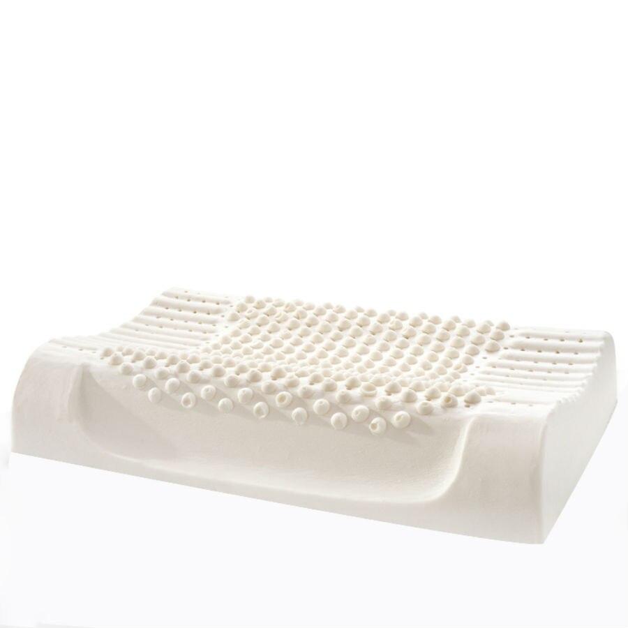 BEYOND CLOUD 40*60cm Natural Latex Adult Bedding Cervica Vertebrae Massage Pillow Health Neck Bonded Head Care Memory Pillow 028
