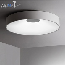 Купить с кэшбэком Dimmable LED Ceiling Lamp Luminaire with Concave Shade