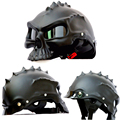 New 2017 Tactical Cool Skull Helmet Paintball Airsoft CS Tatico Motorcycle Helmet half Helmet Protective Equipment Free Shipping