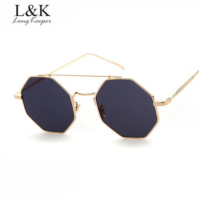 Longo goleiro Típico Octagon Óculos De Sol Das Mulheres Óculos de Sol Duplo  Feixe Para Homens 68b5c0eac3