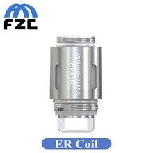 5pcs Eleaf ER Coil 0.3ohm SS316 Replacement Coil Head ER Head Evaporator for Eleaf Melo Aster RT 22 Tank E Cigarette Atomizer