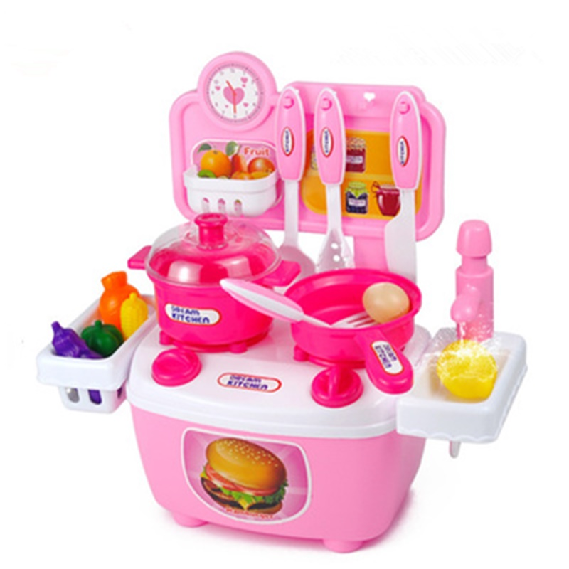 Kitchen Counters On Toys: Kids Pretend Play Toys Classic Kitchen Toy Cooking