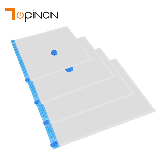 3ff934d86ced US $1.43 5% OFF|4 Size Vacuum Bag Storage Organizer Transparent Border  Foldable Extra Large Seal Compressed Travel Saving Space Bags  Organizador-in ...