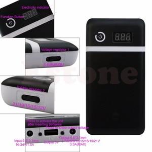Image 4 - Mobile Power Bank 20V UPS 6 18650 Batterie Ladegerät Für Laptop Iphone