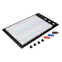ZY 204 Solderless Breadboard Protoboard 4 Bus Test Circuit Board Tie Point 1660