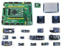 Open407i c Вышивка Крестом Пакет B = STM32 доска STM32F407IGT6 ARM Cortex M4 STM32 развитию + 3.2 TFT 320x240 touch ЖК дисплей + 16 Модули комплект
