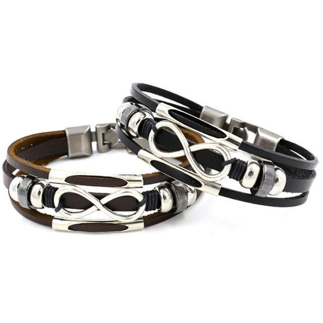infinity armband heren
