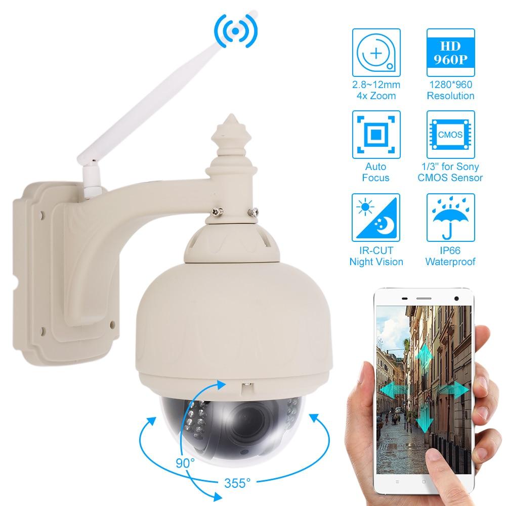 bilder für Szsinocam HD 960 P Drahtlose WiFi Ip-kamera Außen PTZ 2,8-12mm autofokus 4x Zoom Wasserdicht CCTV Überwachungskamera Nachtsicht