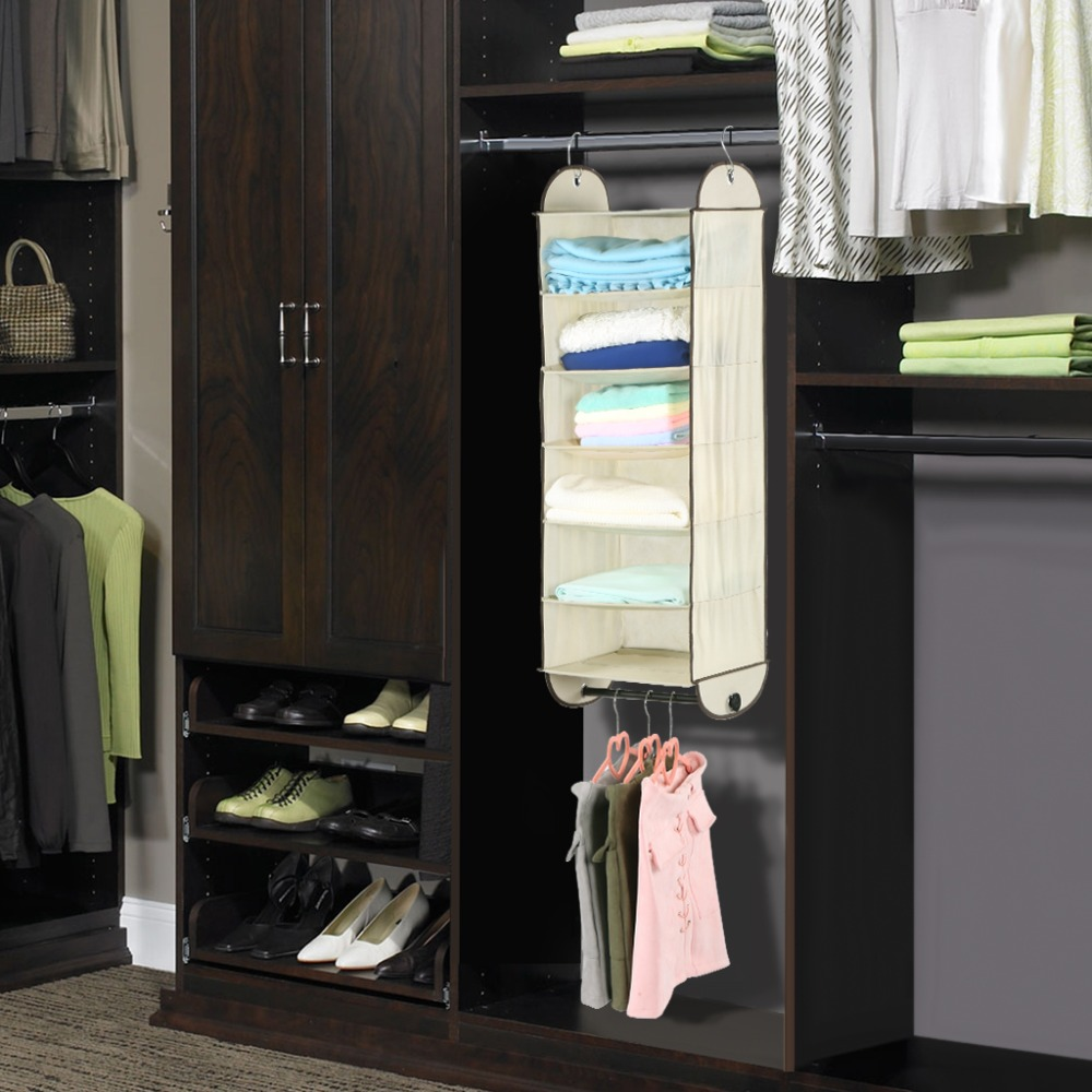 colors rod closet shelves new shelf concept hanging from photo of organizer paint large for size systems