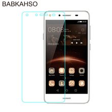 Premium Tempered Glass for Huawei Y5 2 II Y5II 5 Inch Screen Anti Shatter Protector Film