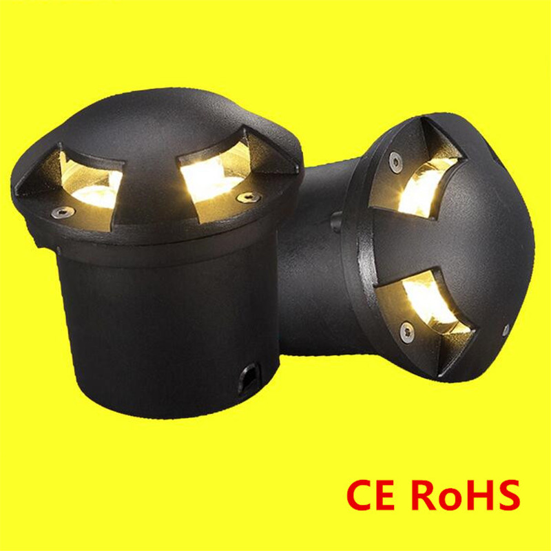 Realistic Cree Chip Led Floor Decking Lights 3x3w Led Underground Lighting Outdoor Waterproof Buried Lamps Spot Encastrable Sol Outside Exquisite Craftsmanship; Led Underground Lamps
