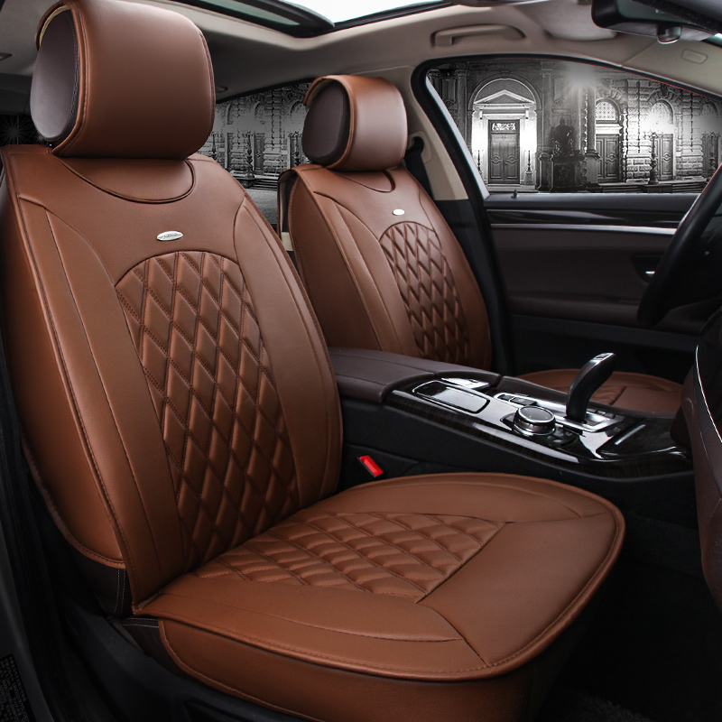 Full Set BMW X1 Luxury PADDED Leather Look Car Seat Covers
