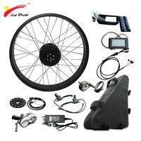 20 26 4.0 Fat Tire Bike Electric Bike Kit with Samsung 48V 20AH Lithium Battery Rear Motor Wheel Electric Bike Conversion Kit