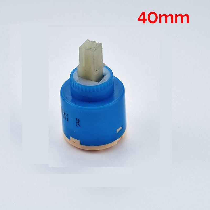 40mm//35mm Ceramic Disc Cartridge Water Mixer Tap Bathroom Panel Valves Repair