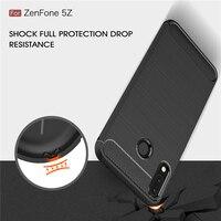 Funda de goma para Asus Zenfone 5 ZE620KL, carcasa de silicona para Asus Zenfone 5 ZE620KL, funda Asus Zenfone 5Z ZS620KL