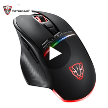 лучшая цена Motospeed V10 Ergonomic Optical Game Gaming Mouse Gamer Mause For Laptop PC Computer Wired With Backlight RGB LED USB Raton Rato