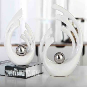 Modern Minimalist Figurines Home Accessories Furnishing Supplies Figurines Ornaments Decorations Home Ceramic Crafts Gifts
