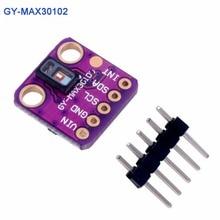 GY-MAX30102 сердечного ритма нажмите Сенсор, оптический Сердечного Ритма Датчик вторжения модуль для Arduino, монитор сердечного ритма и пульса и уровня кислорода в крови