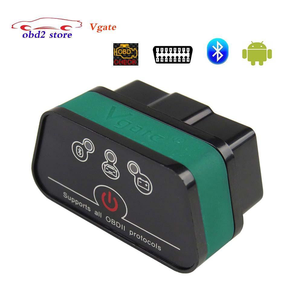 Vgate iCar2 elm327 Bluetooth OBDII OBD2 Voiture De Diagnostic-outil iCar 2 Elm 327 OBD 2 ii Scanner pour Android PC Auto outil De Diagnostic