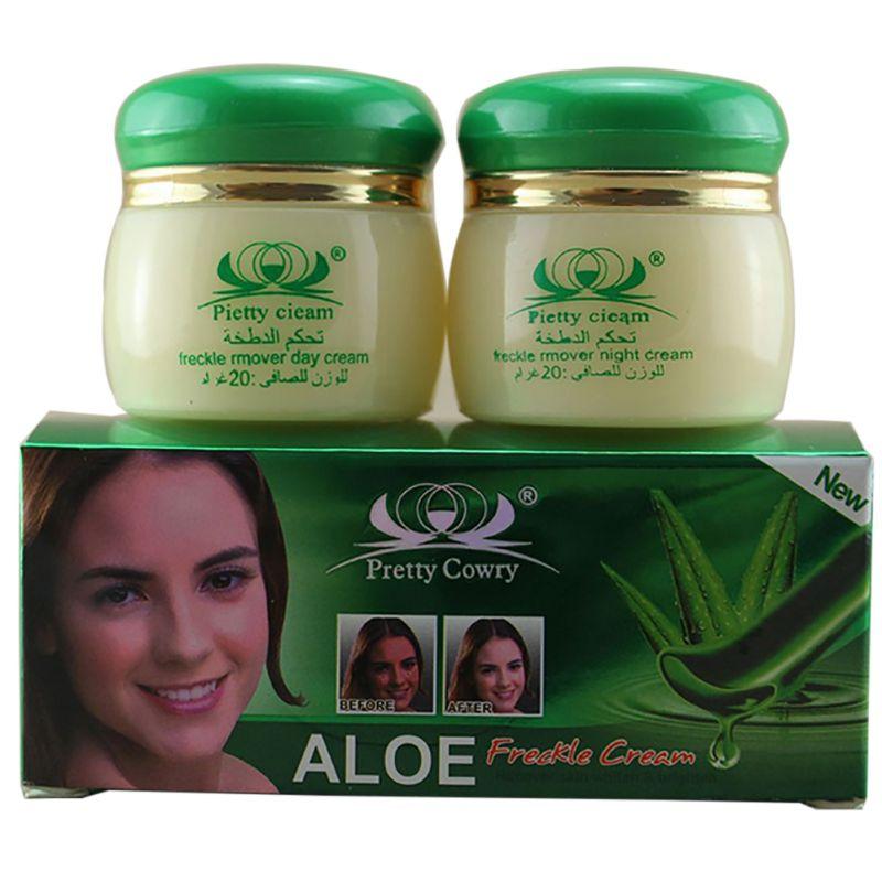 2 unids conjunto elimina pigmento peca cuidado facial cuidado de la piel aloe ma