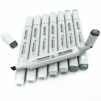 Finecolour Double Ended Alcohol Based Ink Sketch Art Marker Neutral Gray