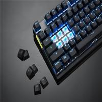 נייד משחקי Motospeed GK82 מסוג C 2.4G Wireless / Wired Keyboard מכונה משחקי 87Key אדום חלף תאורה אחורי RGB נטען עבור מחשב נייד PC (5)