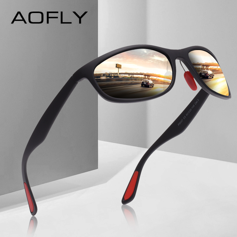 9d3f42f662 AOFLY BRAND DESIGN Polarized Sunglasses Men Women Driving Male Sun Glasses  Fishing Sport Style Eyewear Oculos Gafas AF8104-in Sunglasses from Apparel  ...