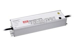 Умный оригинальный светодиодный драйвер MEAN WELL HLG-240H-C2100A 59 ~ 119 в, 249, 9 мА, Вт, источник питания типа A, водонепроницаемый ,  IP65