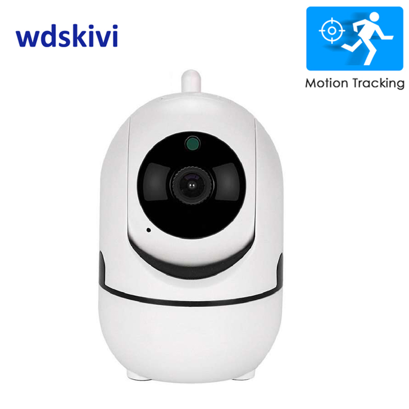 Wdskivi 1080 P nube cámara IP inalámbrica inteligente Auto de seguimiento interior CCTV de seguridad de red Wifi cámara de detección de movimiento
