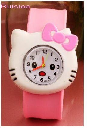 2019 3d Eye Despicable Me Minion Cartoon Watch Precious Milk Dad Cute Children Clock Baby Kid Quartz Wrist Watches For Girls Boy