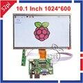 10.1 Дюймов 1024*600 ЖК-Дисплей Экрана Монитора (HDMI + VGA + 2AV) для Raspberry Pi 3/2 модель B/B +